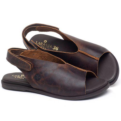 Laranja_Lima_Shoes_Sapatos_Femininos_Sandalia_Rasteira_Flat_em_Couro_Marrom_-_Codigo_-_137297_1