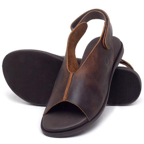 Laranja_Lima_Shoes_Sapatos_Femininos_Sandalia_Rasteira_Flat_em_Couro_Marrom_-_Codigo_-_137297_2