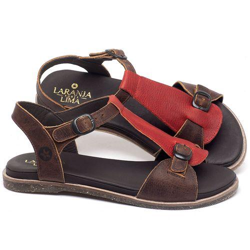 Laranja_Lima_Shoes_Sapatos_Femininos_Sandalia_Rasteira_Flat_em_Couro_Marrom_-_Codigo_-_137298_1