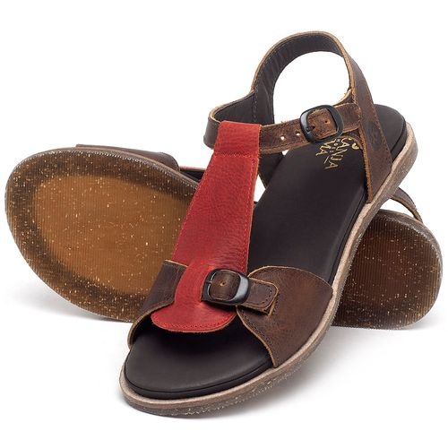 Laranja_Lima_Shoes_Sapatos_Femininos_Sandalia_Rasteira_Flat_em_Couro_Marrom_-_Codigo_-_137298_2