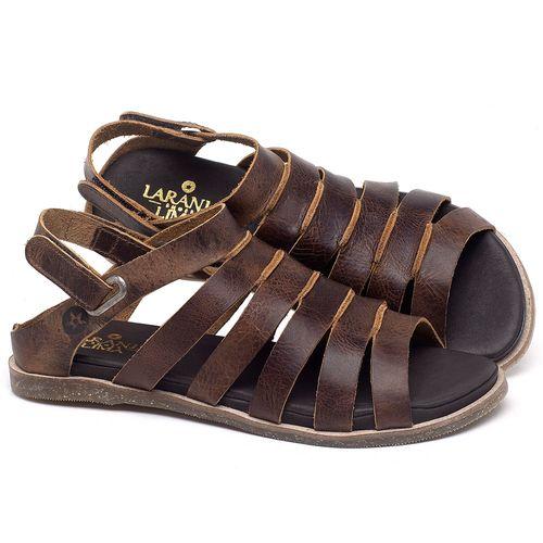 Laranja_Lima_Shoes_Sapatos_Femininos_Sandalia_Rasteira_Flat_em_Couro_Marrom_-_Codigo_-_137301_1