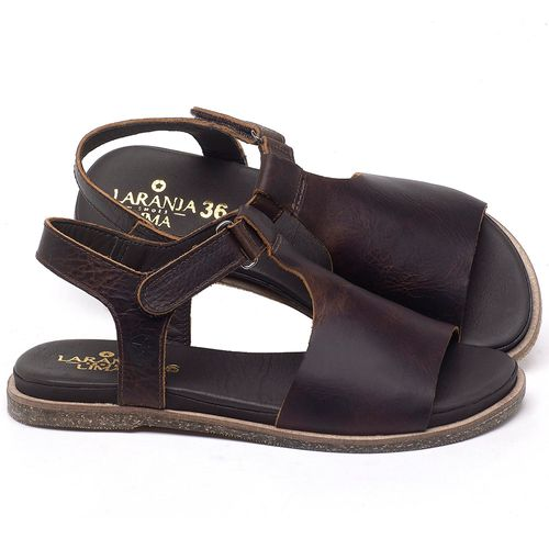 Laranja_Lima_Shoes_Sapatos_Femininos_Sandalia_Rasteira_Flat_em_Couro_Marrom_-_Codigo_-_137302_1