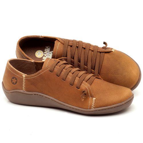 Laranja_Lima_Shoes_Sapatos_Femininos_Tenis_Cano_Baixo_em_Couro_Caramelo_-_Codigo_-_139027_1