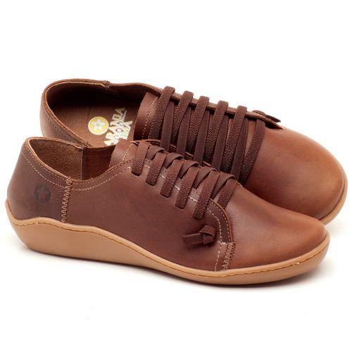 Laranja_Lima_Shoes_Sapatos_Femininos_Tenis_Cano_Baixo_em_Couro_Marrom_-_Codigo_-_139027_1