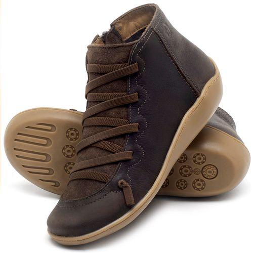 Laranja_Lima_Shoes_Sapatos_Femininos_Tenis_Cano_Alto_em_Couro_Cafe_-_Codigo_-_139028_2
