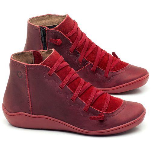 Laranja_Lima_Shoes_Sapatos_Femininos_Tenis_Cano_Alto_em_Couro_Vinho_-_Codigo_-_139028_1