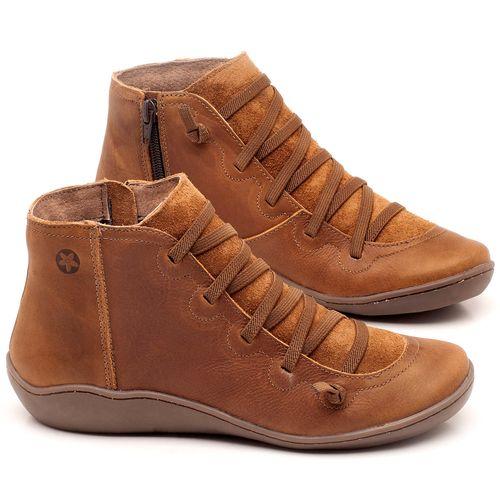 Laranja_Lima_Shoes_Sapatos_Femininos_Tenis_Cano_Alto_em_Couro_Caramelo_-_Codigo_-_139028_1
