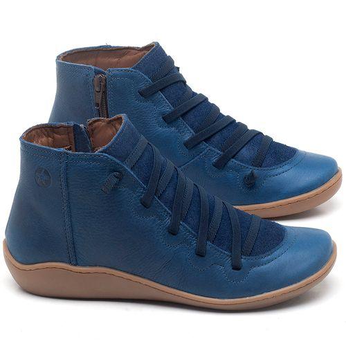 Laranja_Lima_Shoes_Sapatos_Femininos_Tenis_Cano_Alto_em_Couro_Azul_-_Codigo_-_139028_1