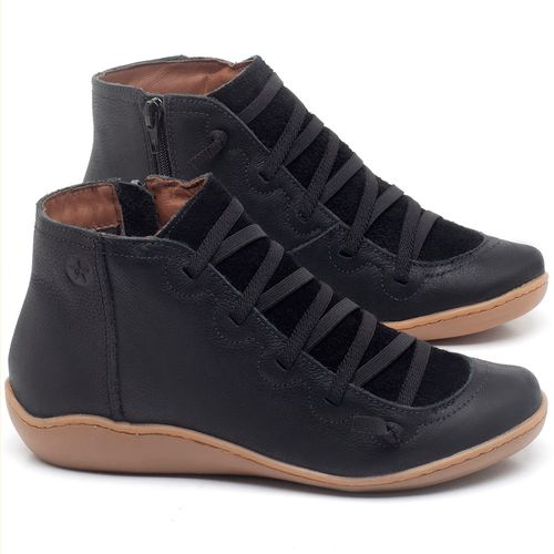 Laranja_Lima_Shoes_Sapatos_Femininos_Tenis_Cano_Alto_em_Couro_Preto_-_Codigo_-_139028_1