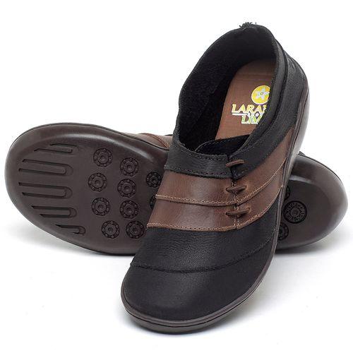 Laranja_Lima_Shoes_Sapatos_Femininos_Sandalia_Rasteira_Flat_em_Couro_Preto_-_Codigo_-_139032_2