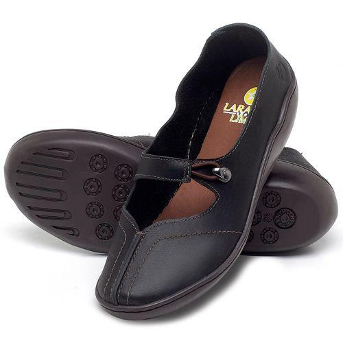 Laranja_Lima_Shoes_Sapatos_Femininos_Sandalia_Rasteira_Flat_em_Couro_Preto_-_Codigo_-_139033_2