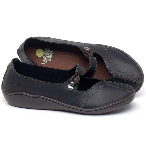 Laranja_Lima_Shoes_Sapatos_Femininos_Sandalia_Rasteira_Flat_em_Couro_Preto_-_Codigo_-_139033_1