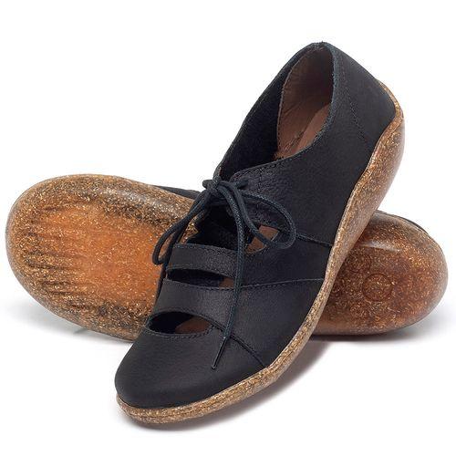 Laranja_Lima_Shoes_Sapatos_Femininos_Sandalia_Rasteira_Flat_em_Couro_Preto_-_Codigo_-_139034_2