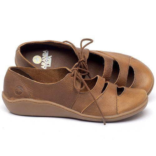 Laranja_Lima_Shoes_Sapatos_Femininos_Sandalia_Rasteira_Flat_em_Couro_Caramelo_-_Codigo_-_139034_1