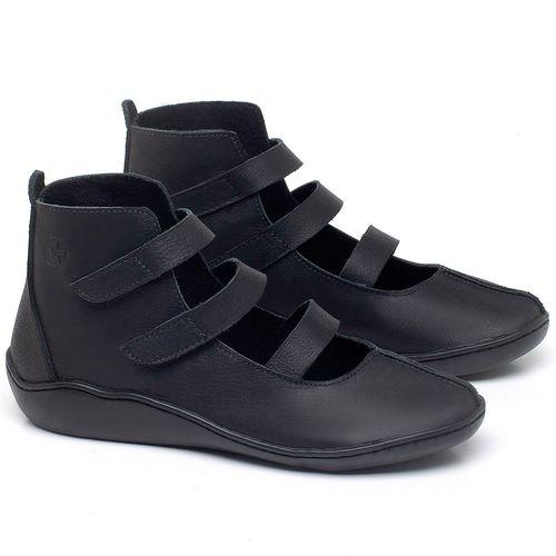 Laranja_Lima_Shoes_Sapatos_Femininos_Flat_Boot_em_Couro_Preto_-_Codigo_-_139036_1