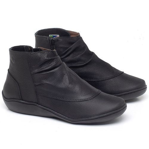 Laranja_Lima_Shoes_Sapatos_Femininos_Flat_Boot_em_Couro_Preto_-_Codigo_-_139037_1