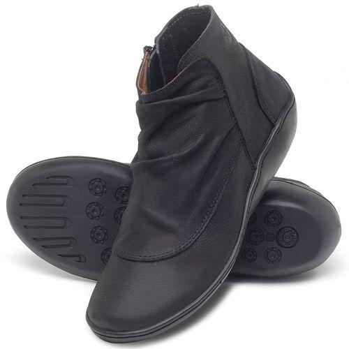 Laranja_Lima_Shoes_Sapatos_Femininos_Flat_Boot_em_Couro_Preto_-_Codigo_-_139037_2