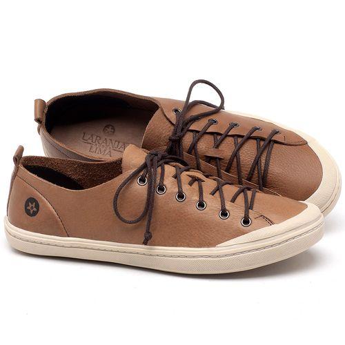 Laranja_Lima_Shoes_Sapatos_Femininos_Tenis_Cano_Baixo_em_Couro_Caramelo_-_Codigo_-_141112_1
