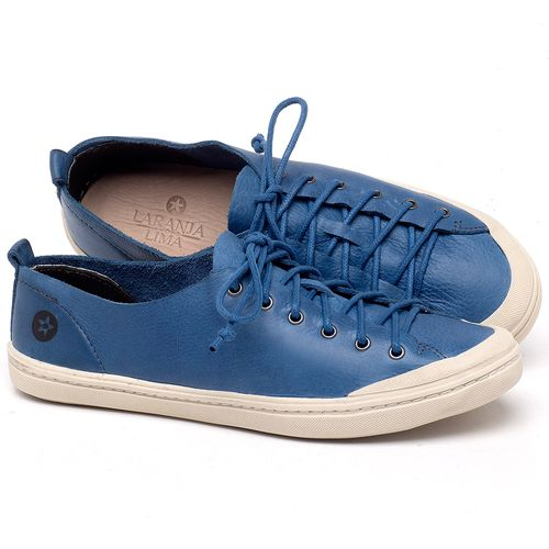Laranja_Lima_Shoes_Sapatos_Femininos_Tenis_Cano_Baixo_em_Couro_Azul_-_Codigo_-_141112_1