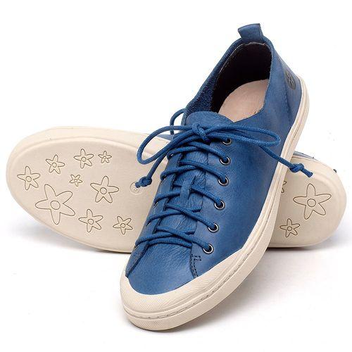 Laranja_Lima_Shoes_Sapatos_Femininos_Tenis_Cano_Baixo_em_Couro_Azul_-_Codigo_-_141112_2