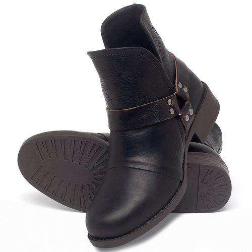 Laranja_Lima_Shoes_Sapatos_Femininos_Bota_Cano_Curto_Salto_de_3_cm_em_Couro_Preto_-_Codigo_-_141139_2