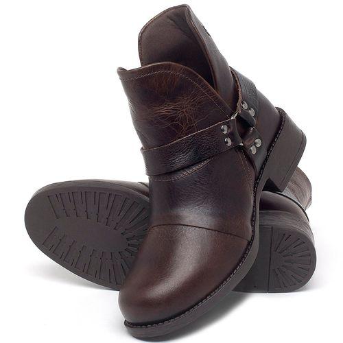 Laranja_Lima_Shoes_Sapatos_Femininos_Bota_Cano_Curto_Salto_de_3_cm_em_Couro_Marrom_-_Codigo_-_141139_2