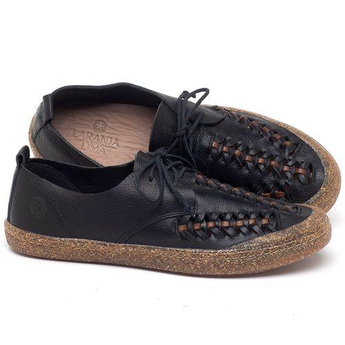Laranja_Lima_Shoes_Sapatos_Femininos_Tenis_Cano_Baixo_em_Couro_Preto_-_Codigo_-_141146_1