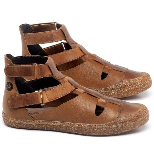 Laranja_Lima_Shoes_Sapatos_Femininos_Tenis_Cano_Alto_em_Couro_Caramelo_-_Codigo_-_141147_1