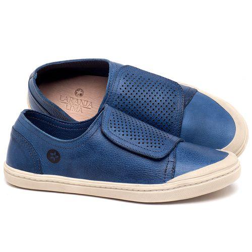 Laranja_Lima_Shoes_Sapatos_Femininos_Tenis_Cano_Baixo_em_Couro_Azul_-_Codigo_-_141151_1