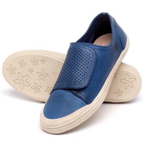 Laranja_Lima_Shoes_Sapatos_Femininos_Tenis_Cano_Baixo_em_Couro_Azul_-_Codigo_-_141151_2