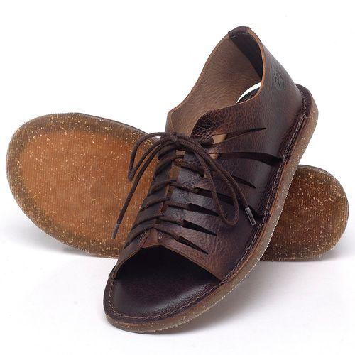 Laranja_Lima_Shoes_Sapatos_Femininos_Sandalia_Rasteira_Flat_em_Couro_Marrom_-_Codigo_-_141153_2