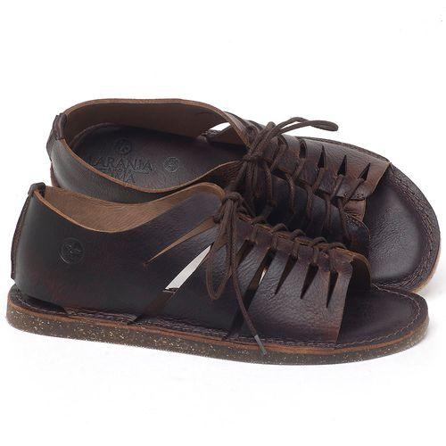 Laranja_Lima_Shoes_Sapatos_Femininos_Sandalia_Rasteira_Flat_em_Couro_Marrom_-_Codigo_-_141153_1