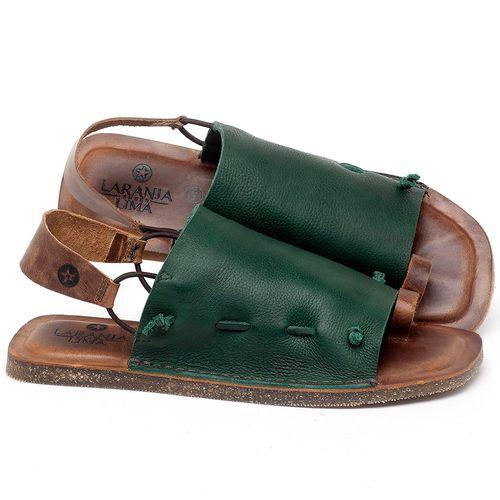 Laranja_Lima_Shoes_Sapatos_Femininos_Sandalia_Rasteira_Flat_em_Couro_Verde_-_Codigo_-_141154_1