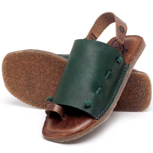 Laranja_Lima_Shoes_Sapatos_Femininos_Sandalia_Rasteira_Flat_em_Couro_Verde_-_Codigo_-_141154_2