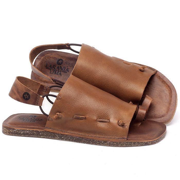 Laranja_Lima_Shoes_Sapatos_Femininos_Sandalia_Rasteira_Flat_em_Couro_Caramelo_-_Codigo_-_141154_1