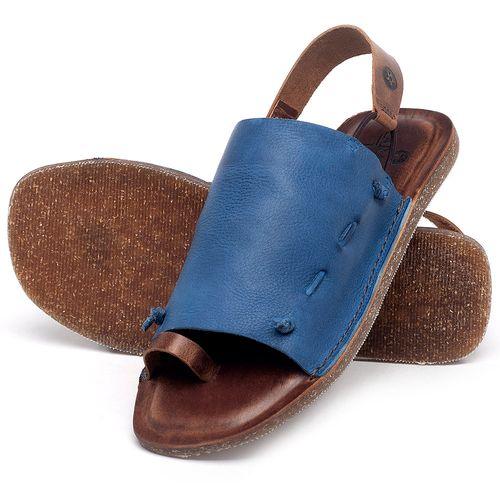Laranja_Lima_Shoes_Sapatos_Femininos_Sandalia_Rasteira_Flat_em_Couro_Azul_-_Codigo_-_141154_2