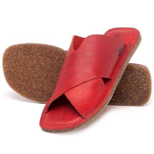Laranja_Lima_Shoes_Sapatos_Femininos_Sandalia_Rasteira_Flat_em_Couro_Vermelho_-_Codigo_-_141155_2