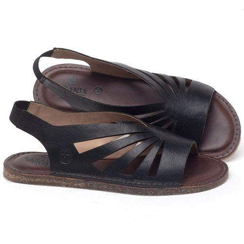Laranja_Lima_Shoes_Sapatos_Femininos_Sandalia_Rasteira_Flat_em_Couro_Preto_-_Codigo_-_141156_1