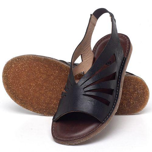 Laranja_Lima_Shoes_Sapatos_Femininos_Sandalia_Rasteira_Flat_em_Couro_Preto_-_Codigo_-_141156_2