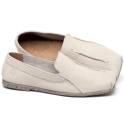 Laranja_Lima_Shoes_Sapatos_Femininos_Sapatilha_Bico_Quadrado_em_Couro_Off-White_-_Codigo_-_145003_1
