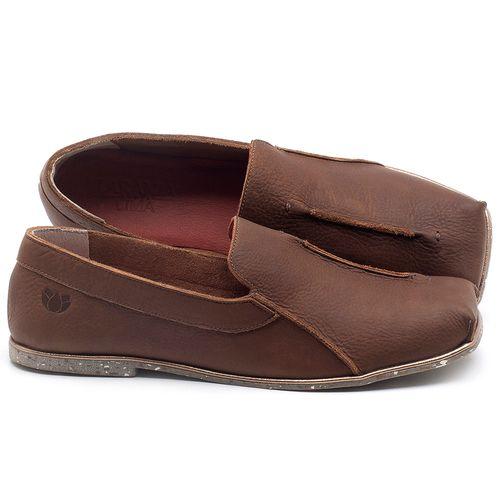 Laranja_Lima_Shoes_Sapatos_Femininos_Sapatilha_Bico_Quadrado_em_Couro_Marrom_-_Codigo_-_145003_1