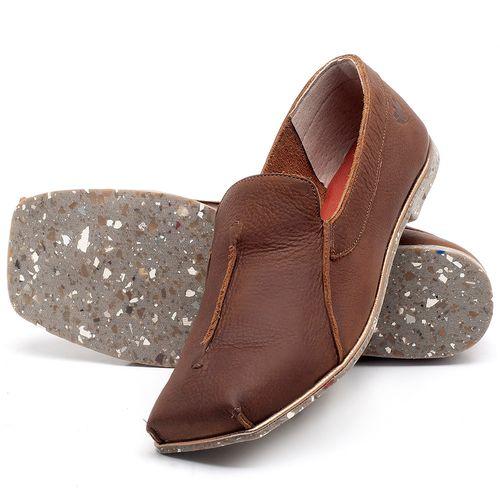 Laranja_Lima_Shoes_Sapatos_Femininos_Sapatilha_Bico_Quadrado_em_Couro_Marrom_-_Codigo_-_145003_2