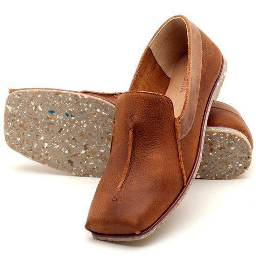 Laranja_Lima_Shoes_Sapatos_Femininos_Sapatilha_Bico_Quadrado_em_Couro_Caramelo_-_Codigo_-_145003_2