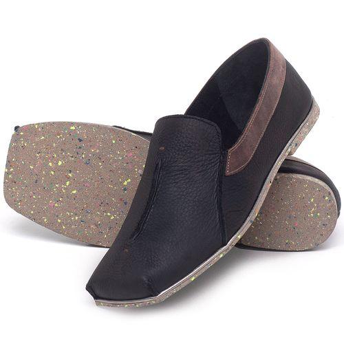 Laranja_Lima_Shoes_Sapatos_Femininos_Sapatilha_Bico_Quadrado_em_Couro_Preto_-_Codigo_-_145003_2