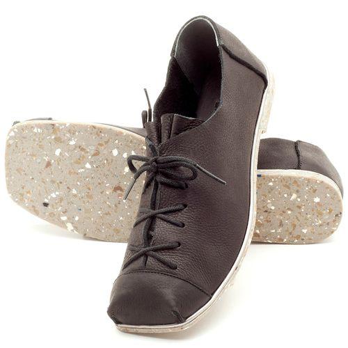 Laranja_Lima_Shoes_Sapatos_Femininos_Sapatilha_Bico_Quadrado_em_Couro_Preto_-_Codigo_-_145010_2