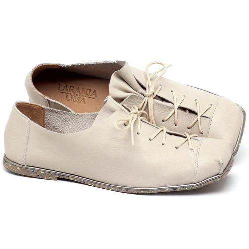 Laranja_Lima_Shoes_Sapatos_Femininos_Sapatilha_Bico_Quadrado_em_Couro_Off-White_-_Codigo_-_145010_1