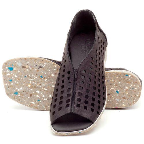 Laranja_Lima_Shoes_Sapatos_Femininos_Sandalia_Rasteira_Flat_em_Couro_Preto_-_Codigo_-_145016_2