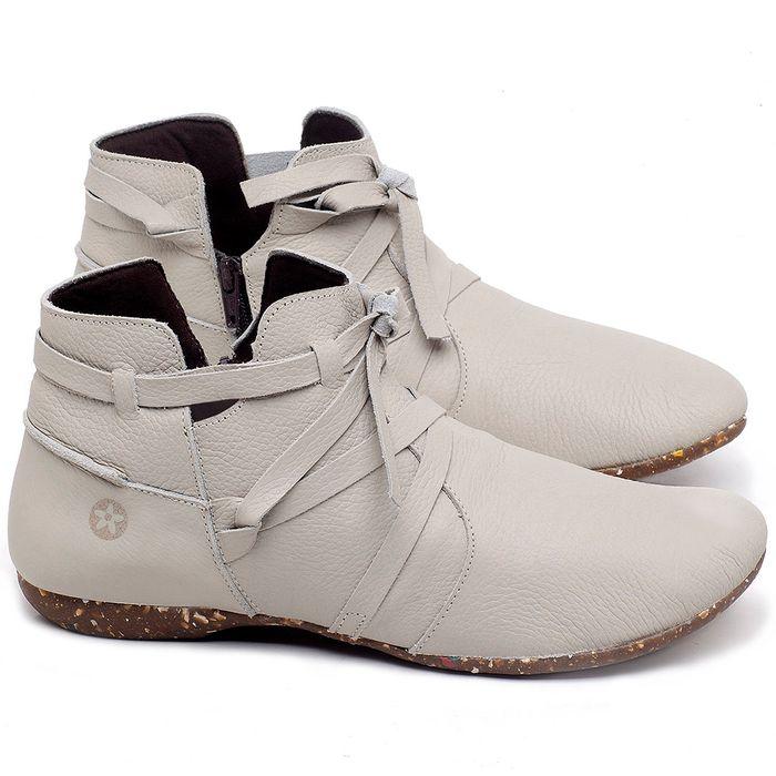 Laranja_Lima_Shoes_Sapatos_Femininos_Flat_Boot_em_Couro_Off-White_-_Codigo_-_148022_1