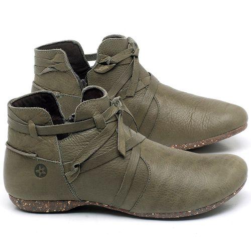 Laranja_Lima_Shoes_Sapatos_Femininos_Flat_Boot_em_Couro_verde_-_Codigo_-_148022_1