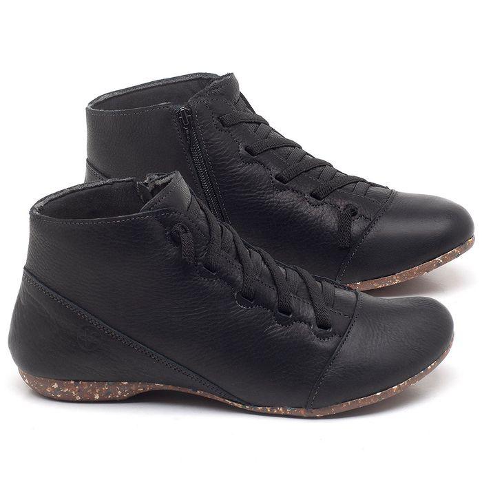 Laranja_Lima_Shoes_Sapatos_Femininos_Flat_Boot_em_Couro_Preto_-_Codigo_-_148023_1